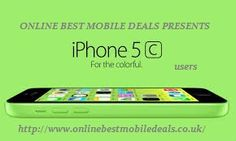 Buy Apple iPhone 5c 32GB Green Contracts