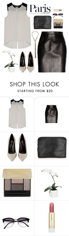 """""""""""I think I fall in love a little bit with anyone that shows me their soul. This world is so guarded and fearful. I appreciate rawness so much."""" -Emery Allen"""" by are-you-with-me ❤ liked on Polyvore featuring rag & bone, Dolce&Gabbana, Yves Saint Laurent, 3.1 Phillip Lim, Guerlain, Torre & Tagus, Vince Camuto and Paul & Joe"""