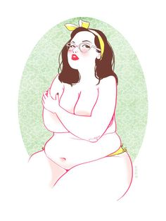 """For me this would be the idea woman I would love till the end of days. illustration """"This Body"""" - Hyacinth-Zofia (Canada)"""