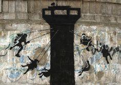 Banksy revient sur le web pour dénoncer la situation en Palestine | Glamour