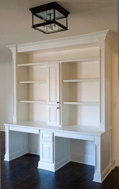 custom desk and book shelves - Google Search