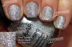 Steph's Closet Photo: Nubar Star Sparkle Nail Polish