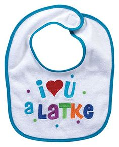 ccbe2afe7 Rite Lite I Love You A Latke Bib Rite Lite Hanukkah Gifts, Share The Love