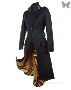 LiBErty FREEdom Sandhurst Long Coat - Navy | Country Attire