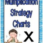 This is a set of charts I made to compliment the teaching of multiplication using thinking strategies and writing them down. Each chart explains th...