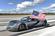 Hennessey Venom GT World Record Top Speed Run
