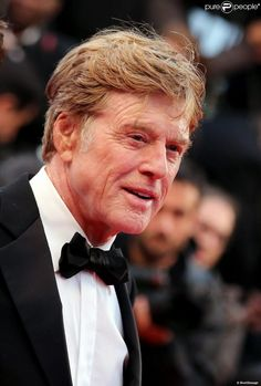 "Robert Redford lors de la montée des marches du film ""All is lost"" lors du 66e Festival du film de Cannes, le 22 mai 2013"