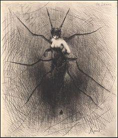Joseph Apoux: Un Drame Reveries Fantastiques, 1890s.