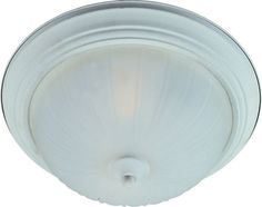 """Maxim 5831 2 Light 13.5"""" Wide Flush Mount Ceiling Fixture from the Essentials -"""
