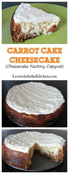 Carrot Cake Cheesecake (Cheesecake Factory Copycat)- Perfect for Easter dessert!