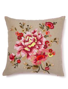 Embroidered Cushion | M&S