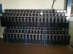 instalación de acumuladores en sistema aislado de la red