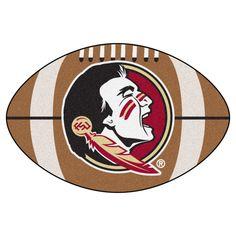 "Floor Mat 1'2""X2'2"" Fanmats Florida State Seminoles Team Color"