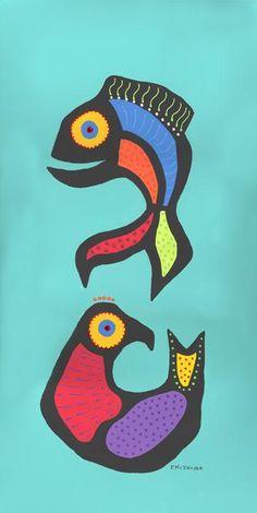 Fish and Bird Colorfulgirl.com