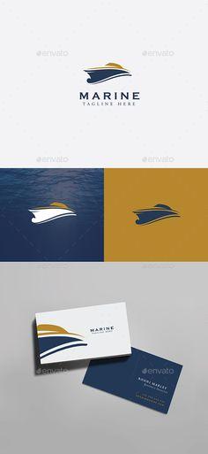 Yacht Marine Logo #Yacht #Marine #Logo