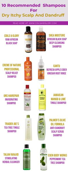 10 Best Anti-Dandruff Shampoos For Itchy and Flaky Scalp - Coils and Glory
