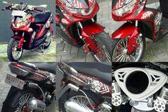 Soul GT 2014 Merah Maroon