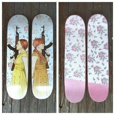 I Got Your Back Skate Deck, Skateboard.
