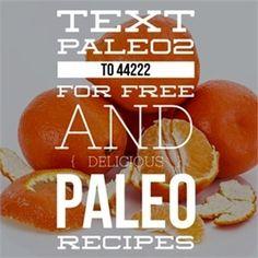 Text Paleo2 to 44222 for 12 free and delicious paleo recipes.! #paleo #recipes #diet #weightloss #vegan #mealfit #fatloss #nutrition #cooking #foodie #paleodiet #paleolifestyle #paleofood #paleolife #paleoeats #paleofriendly #paleoliving #paleoish #paleobreakfast #paleorecipes #paleoapproved #paleogirl #paleochallenge #fitfood #fitgirl #healthybreakfast #fitfoodhealth #paleodiet #paleofood  #plantbased by paleo01