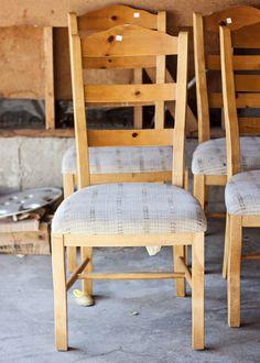 Refinished Chairs    #refinishing furniture  #DIY furniture