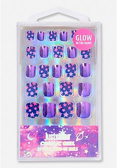 Just Shine Cosmic Girl Press On Nails Just Shine Cosmic Girl Press On Nails The post Just Shine Cosmic Girl Press On Nails appeared first on DIY Shares. Fake Nails For Kids, Nail Art For Girls, Cute Acrylic Nails, Cute Nails, Pretty Nails, Fancy Nails, Unicorn Makeup, Unicorn Nails, Justice Makeup