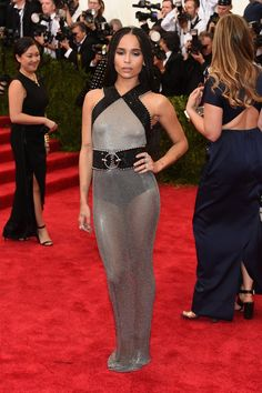 Pin for Later: Get a Load of All the Glamour on the Met Gala Red Carpet! Zoë Kravitz