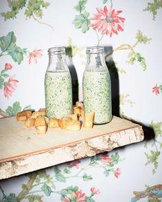 Kochrezept: Kerbelsuppe - Das Kochquartett