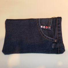 Recycled Denim Pencil Case