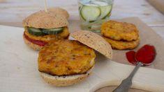 Veggie Burger: Gemüsepower deluxe - Paleo360.de Salmon Burgers, Ethnic Recipes, Food, Paleo Bread, Paleo Recipes, Meat, Food Food, Essen, Meals