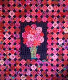 quilt fabric, quilt kits, quilts, and other quilting products from the books Museum Quilts and Passionate Patchwork by Kaffe Fassett and Liza Prior Lucy. Snowball Quilts, Millefiori Quilts, Fat Quarter Quilt, Colorful Quilts, Bright Quilts, Medallion Quilt, Flower Quilts, Hexagon Quilt, Doll Quilt