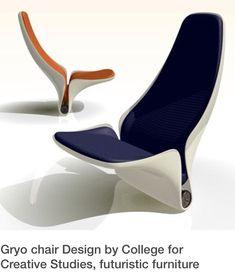 Cool design / Desequilíbrio / A falta de pernas desta cadeira sugere instabilidade da forma.