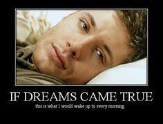 Yep! Jensen Ackles, Dean Winchester, Supernatural....drool!                                                                                                                                                     Más