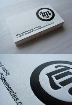 Corporate Identity Card - LetterPress