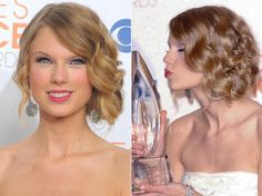 Taylor Swift's Hairstyles #celebrityhairstyles #taylorswift #hairstyles