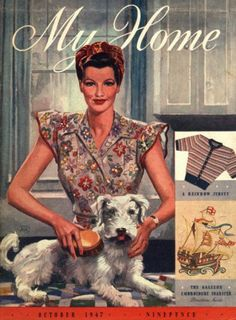 My Home magazine from October 1947