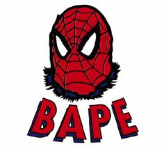 Things to look forward to…. Bape x Spider-Man #crispculture