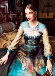La sériePaint Me Over est un joliprojet imaginé en collaboration par la photographe Marina Danilovaet la designerSvetlana Lyalina, mettant en scène d