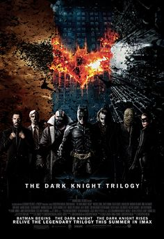 The Dark Knight Trilogy #movie #poster