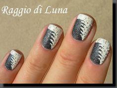 Raggio di Luna Nails: Winter trees