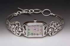 Narcissus Silver Spoon Jewelry Watch Bracelet