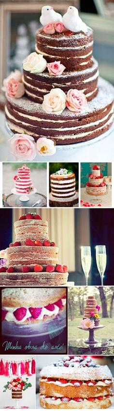 Naked Cake | Blog de Casamento | Assessoria e Cerimonial | Organização de Eventos | Campinas - São Paulo - Jundiaí | Marion Saint Claire