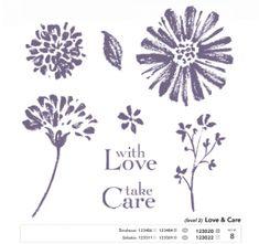 Stampin Up Stampin Up Love & Care Hostess Stamp Set photo