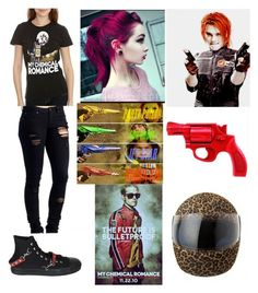 """""""Untitled #2175"""" by llamapoop ❤ liked on Polyvore featuring Demonia"""