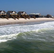 Topsail Island-- if you are not familiar Nights in Rodanthe was filmed here
