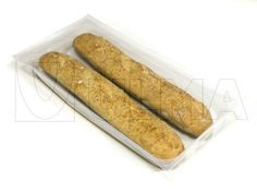 French bread packaging in thermoforming in modified atmosphere (MAP) with rigid film — ULMA Packaging Bread Packaging, Packaging Solutions, Confectionery, Biscuits, Bakery, Map, French, Film, Ethnic Recipes