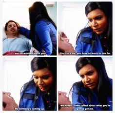 One of my favorite lines! Mindy always says what girls are really thinking