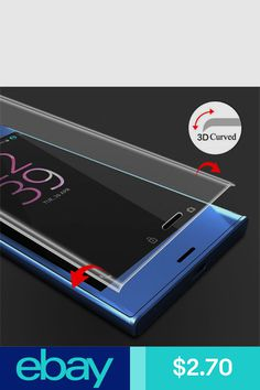 Full Cover Tempered Glass Screen Protector For Sony Xperia XZ Sony Xperia, Tempered Glass Screen Protector, Retail Packaging, Cell Phone Accessories, Phones, Ebay, Products, Telephone, Gadget