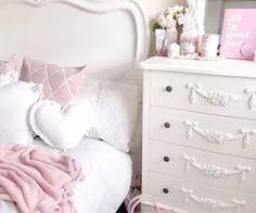Home Decor Habitacion .Home Decor Habitacion Vintage Room, Bedroom Vintage, My New Room, My Room, French Home Decor, Pink Room, Aesthetic Bedroom, Beautiful Bedrooms, Home Interior