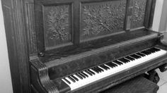 This is my antique piano!