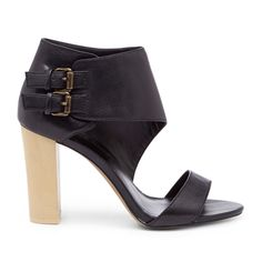 a39c5a453b68 SoleSociety Tamia block heel - Black by Kovyrzina Rudaya